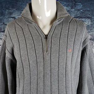 Ralph Lauren Sweaters - Ralph Lauren Cotton Heavy 1/2 Zip Sweater Large